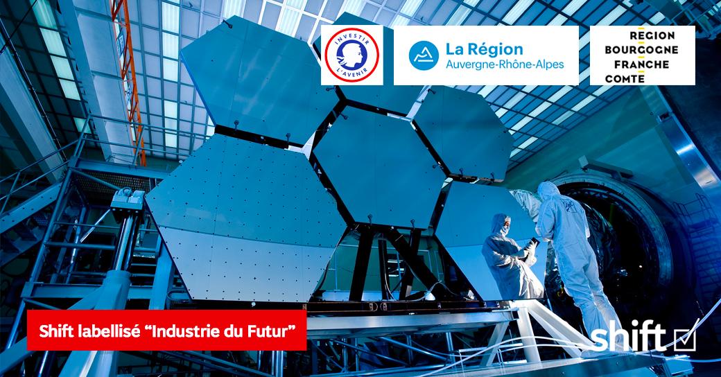 """Shift labellisé «Industrie du futur"""""""