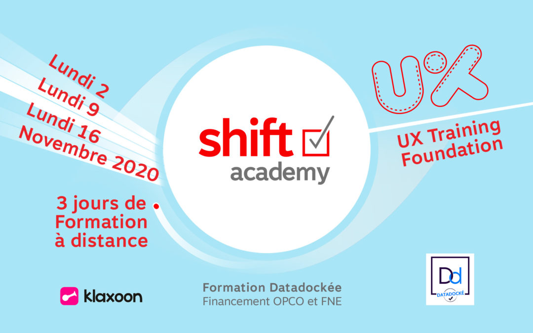 Nouvelle session de notre formation UX Training Foundation ! À DISTANCE !